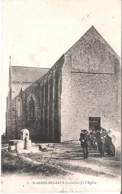 6 SAINT ANDRE des EAUX - L'Eglise