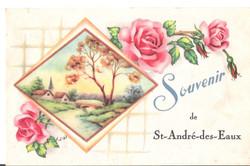 SOUVENIR de ST-ANDRE-DES-EAUX - 2