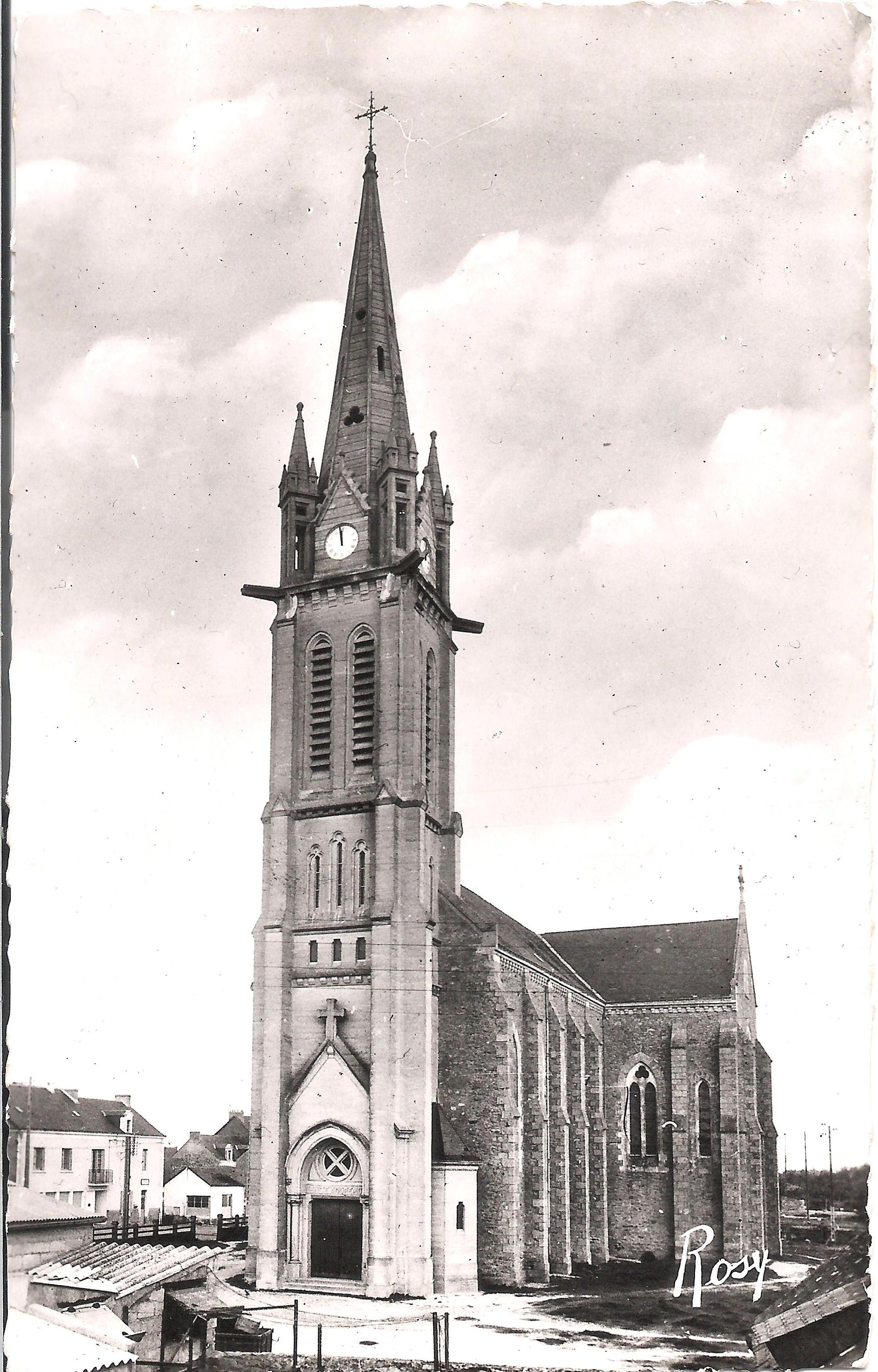 1882 - Saint-André-des-Eaux - L'Eglise