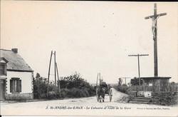 Saint_André_des_Eaux_Le_calvaire_et_route_de_la_Gare