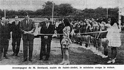 InaugurationVieille Masse Basket 1970