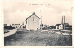 1-St-ANDRE-des-EAUX - La Gare
