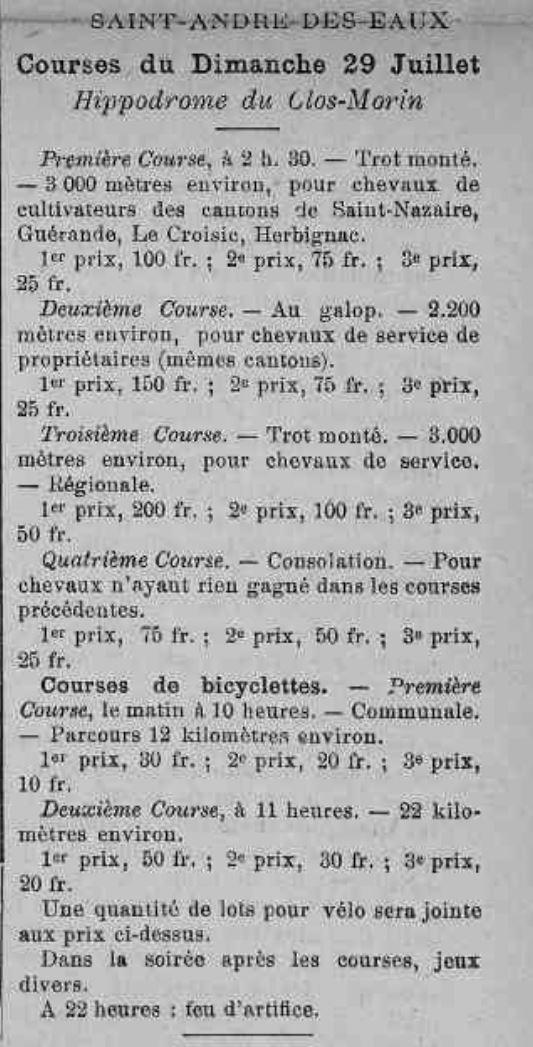 1923-07-29 courses de chevaux et bicyclettes