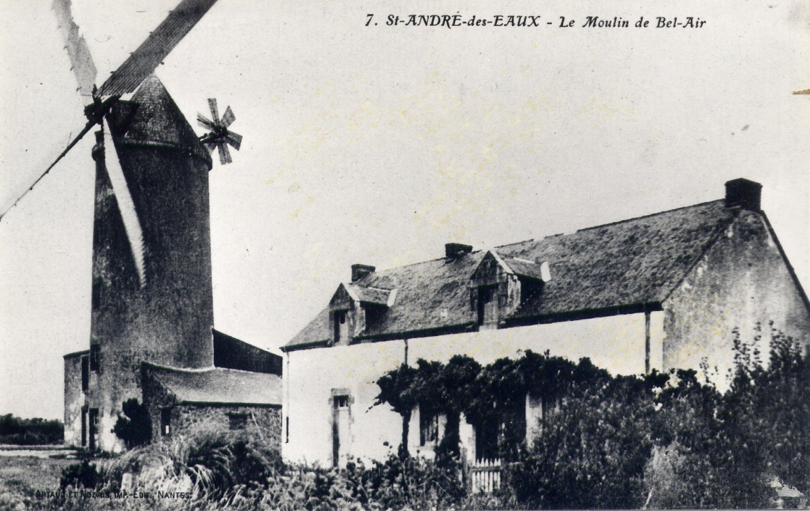 Moulin de Bel Air en 1924