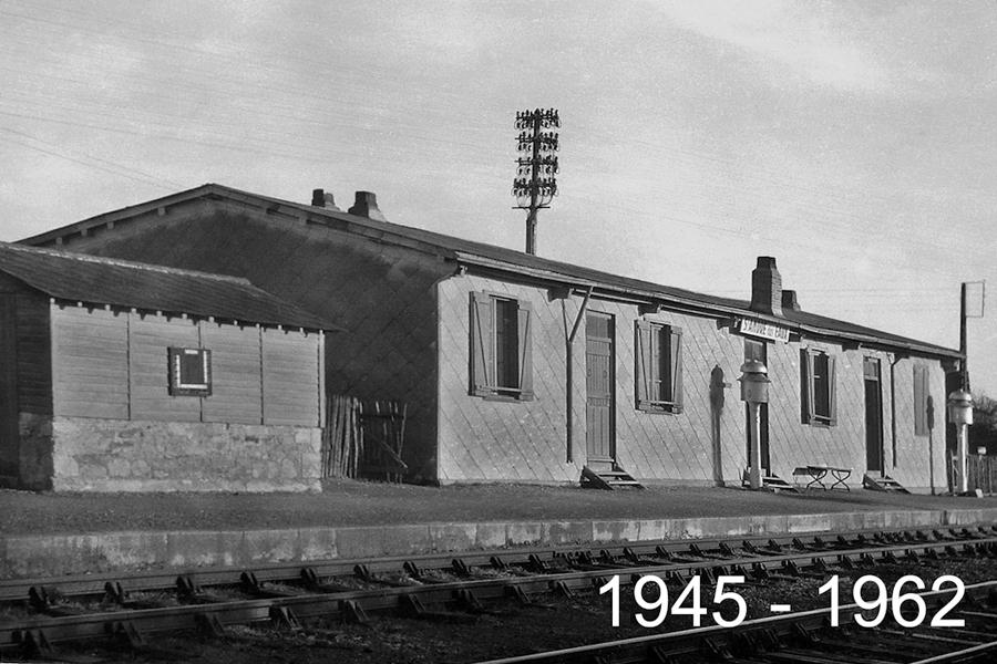 6- 1945-1962 Gare de Brais