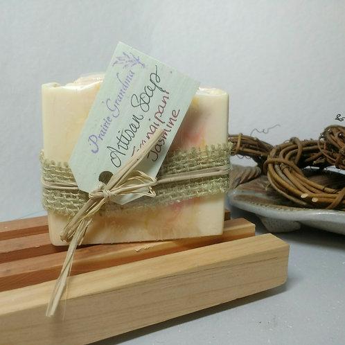 Frangipani Jasmine artisan soap