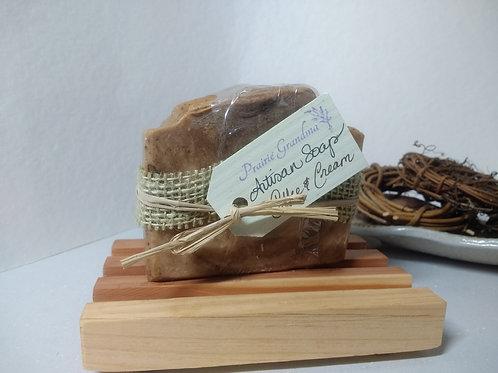 Coffee and Cream artisan soap