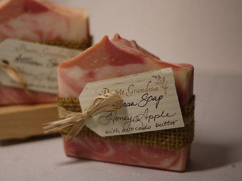 Honey Apple artisan soap
