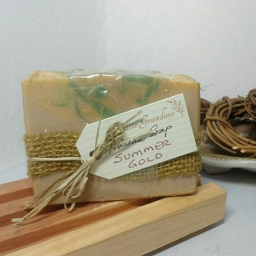 Summer Gold artisan soap