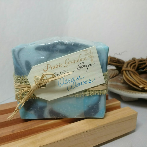 Ocean Waves artisan soap