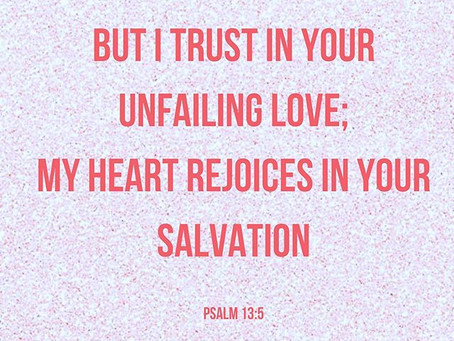 UNFAILING LOVE. UN.FAILING.