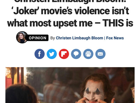 """Joker"" Movie's Violence Isn't What Most Upset Me--THIS is"