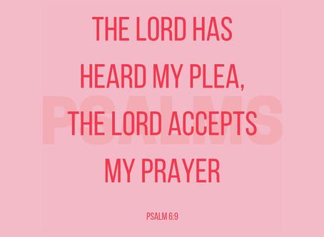 God HEARS your Pleas