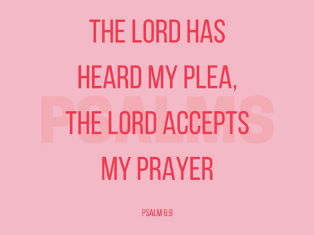 God HEARS your Pleas
