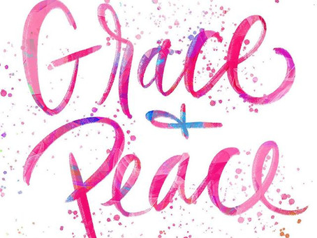 GIVE more Grace, FIGHT for your Peace