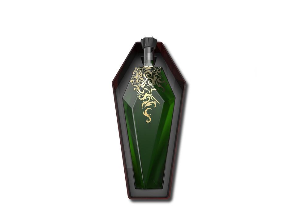 SIN - Absinthe Bottle