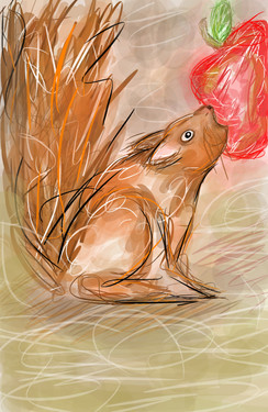 Red Squirrel Wins!