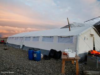 ROFI Alpha Tent at Svalbard