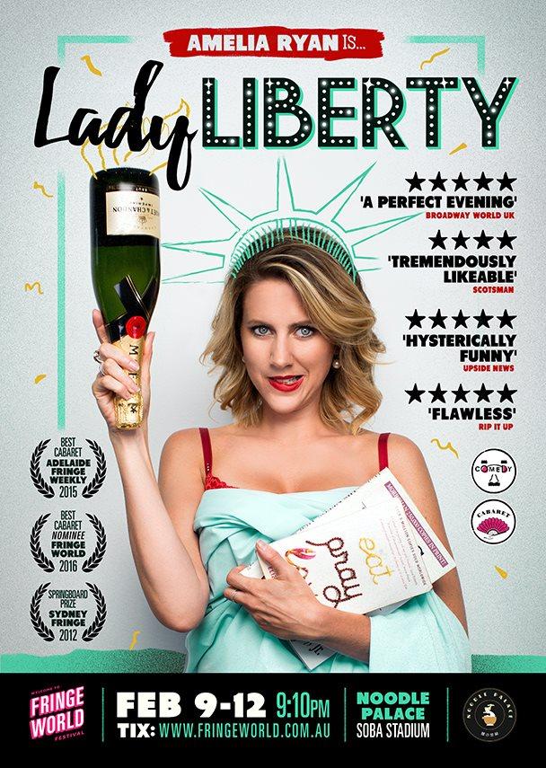 'Lady Liberty' Poster