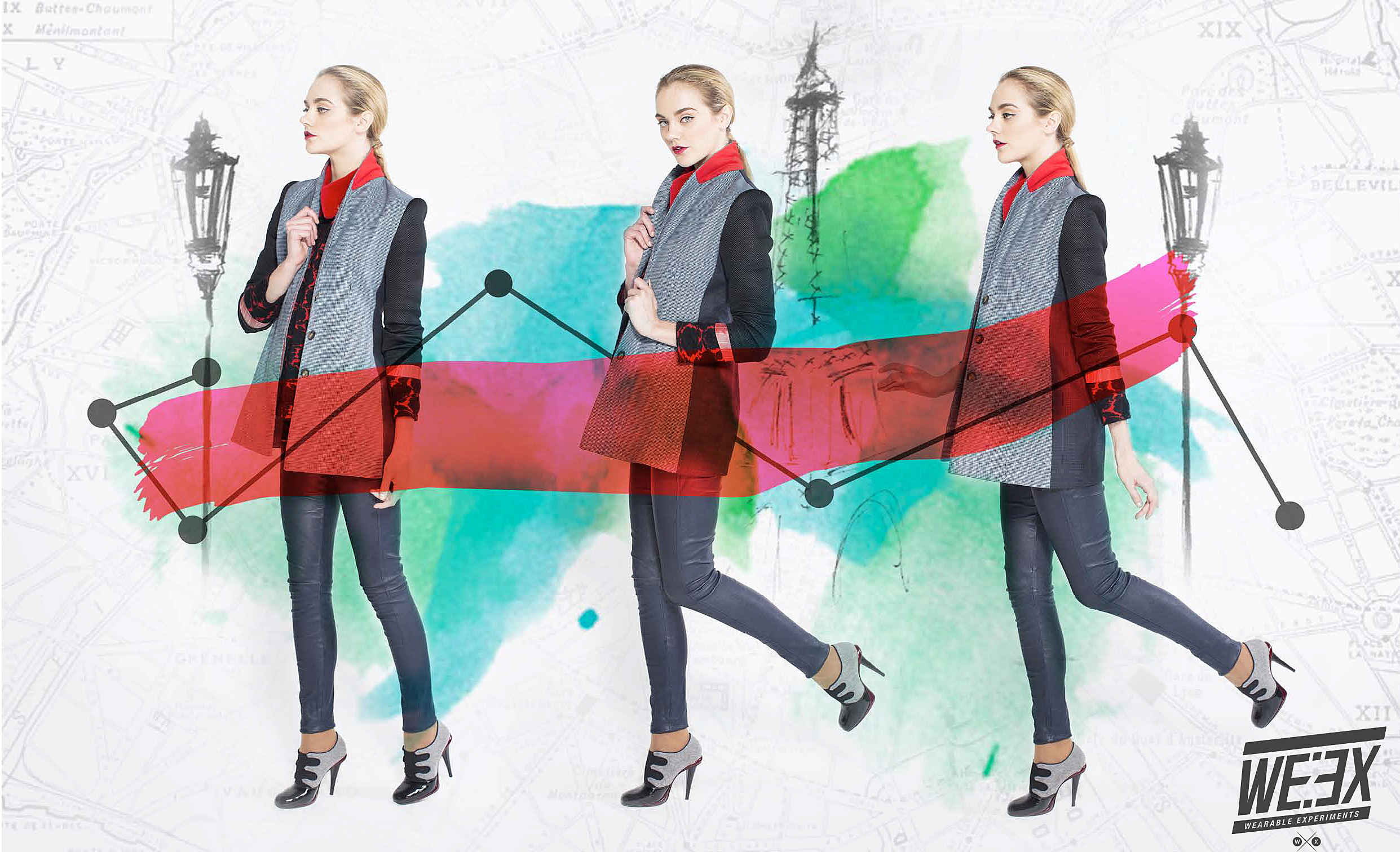 NAVIGATE JACKET WEARABLE EXPERIMENTS