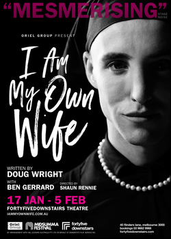 'I Am My Own Wife' Poster