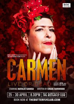 'Carmen: Dead or Alive' Poster