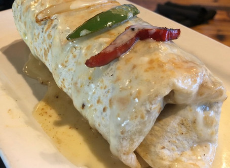 SMOKED CHICKEN BURRITO