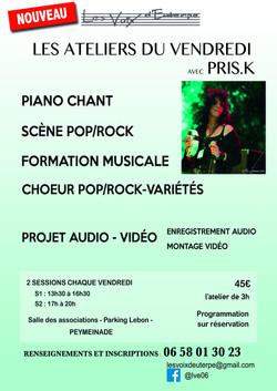 Affiche Priska 2017-18