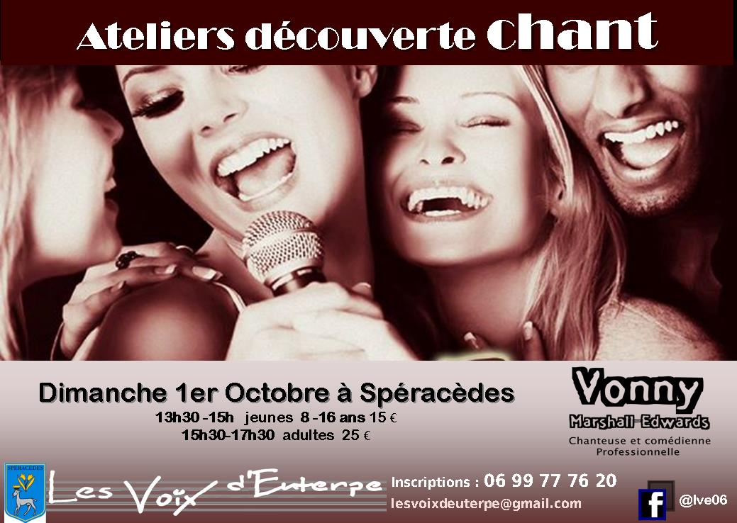 LVE 1-10-17 découverte Spéracèdes Vonny.