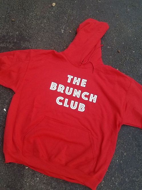 "Brunch Club ""Logo"" Hoodie  (4 Different Colors)"