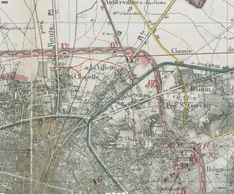 Carte de 1851
