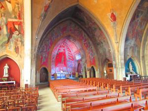 L'église après les fresques