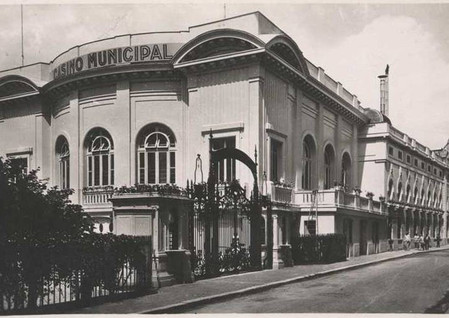 Théâtre et casino avant 1909
