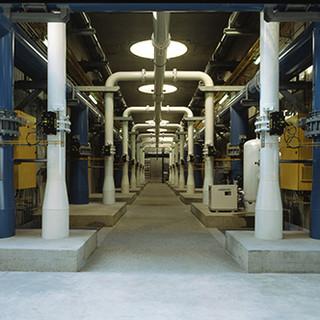 L'usine produit 300000 mètres cubes d'eau potable par jour pompée dans la Marne, soit environ 25% des besoins en eau de la capitale.