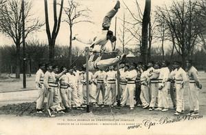 Le Bataillon de Joinville (carte postale)