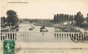 Polangis au début du XXème siècle (carte postale)