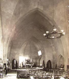 L'église avant les fresques