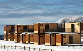 Architecture de containers dans le monde