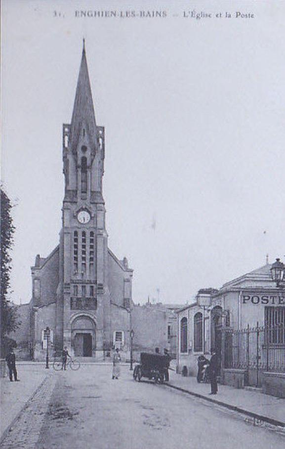 Eglise et Poste