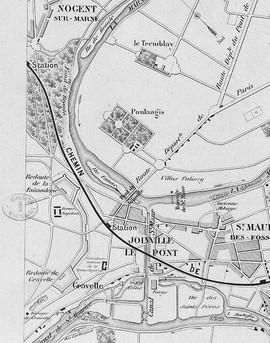 Carte de Joinville - 1865