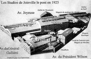 Studios en 1925