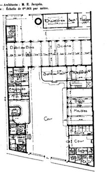 Plan de la manufacture Louis