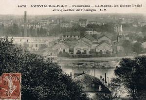 Panorama de l'ancienne usine Pathé