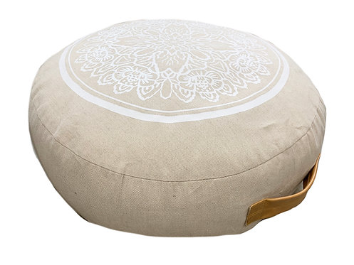 Meditation Pillow white