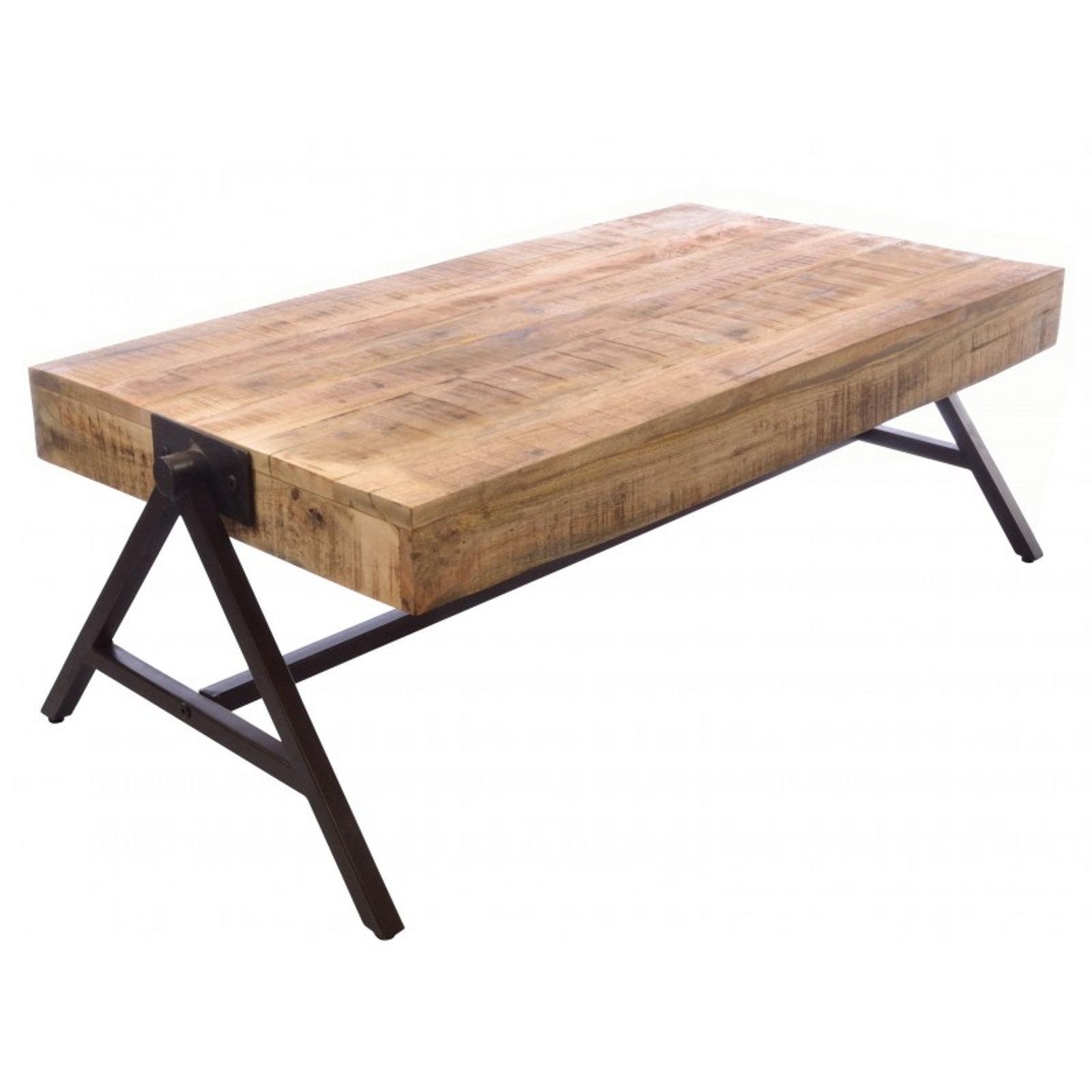 - Industrial Wood And Metal Coffee Table Website