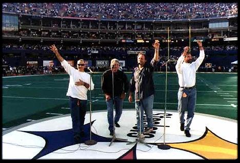 Al Snyder, Dave Hanner, Bob Corbin, Kip Paxton