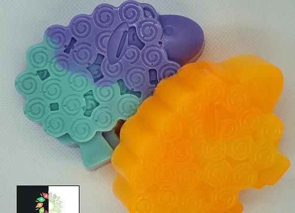 Tutti Frutti Sheep Soap