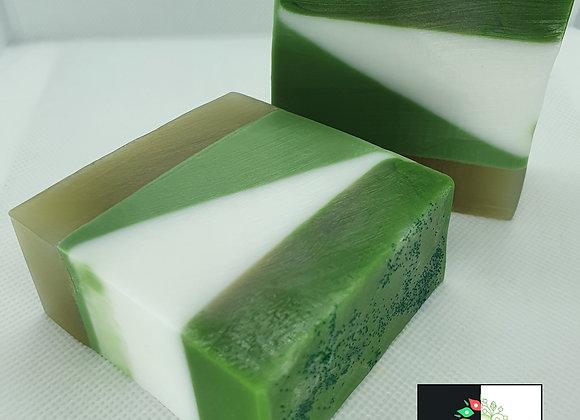 Coconut & Lime Stripe Soap