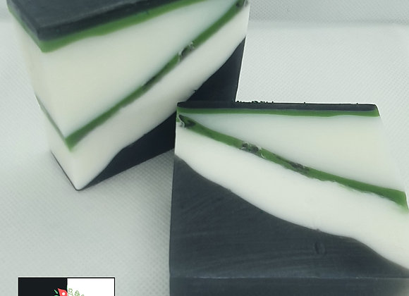 Coconut & Lime Snow Slope Block