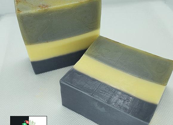 Spice Bouquet Stripe Soap